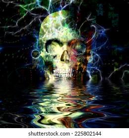 Skull Reflection