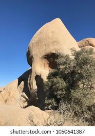 Skull Rock at Joshua Tree