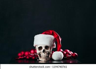 The skull of Santa Claus