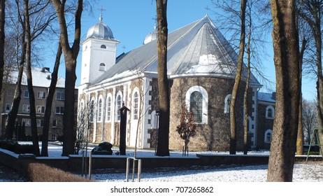 Skuodas church, Lithunia church, Lietuva church,