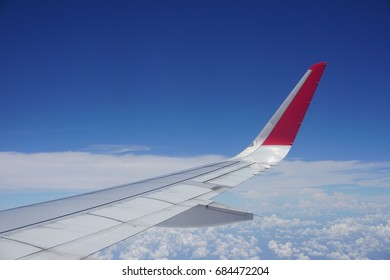 Sky, Aircraft Wing, Backgrounds, Cloud, Wing
