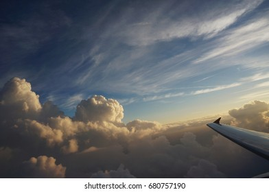 sky and airplane