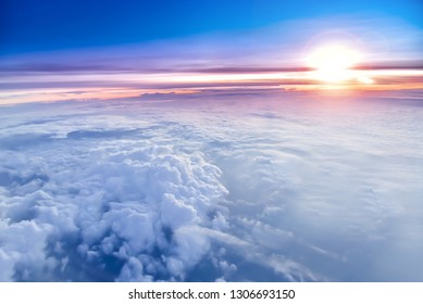 The sky atmosphere of the stratosphere - Shutterstock ID 1306693150