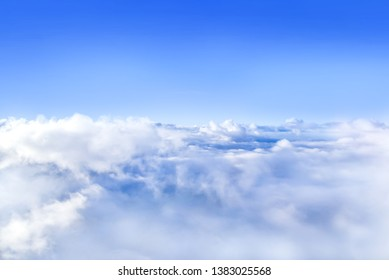 The sky atmosphere of the stratosphere.