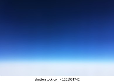 Sky Background from the Airplane