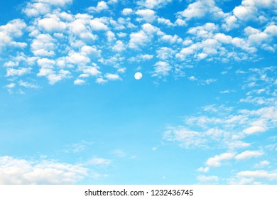 sky beautiful, blue sky clouds white, sky soft clear, fluffy clouds on sky for background