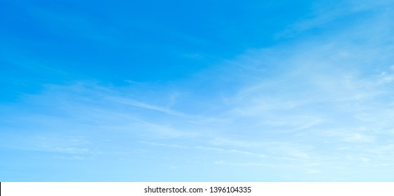 Sky blue background clear clouds