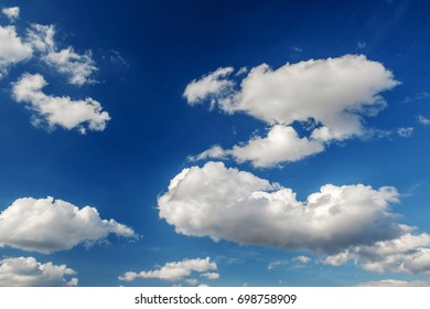 Sky / blue sky background with clouds / Sky with clouds - Shutterstock ID 698758909