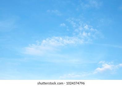 sky blue clouds background
