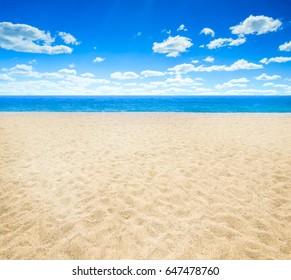 sky and blue ocean