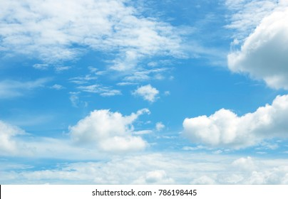 sky  blue  white cloud background