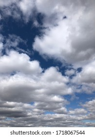 Sky blue white, gray clouds background