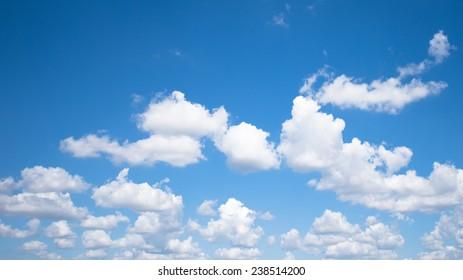 Sky and cloud