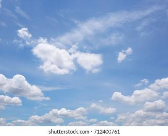 Sky, Cloud - Sky, Cloudscape, Cumulus Cloud, Summer