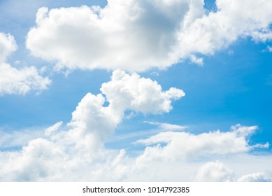 Sky clouds background.