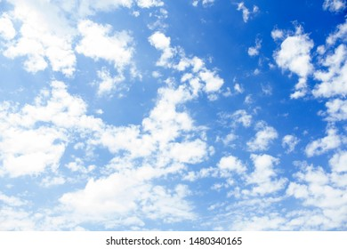Sky with clouds. Background. Photo.