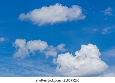 sky with clouds and sun, Background