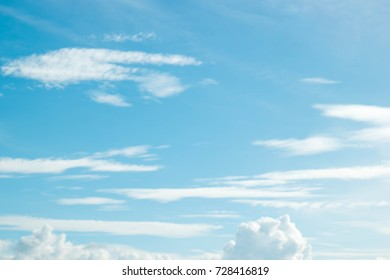 sky with clouds sun in nature texture background,blue vintage,Refreshing with the new morning