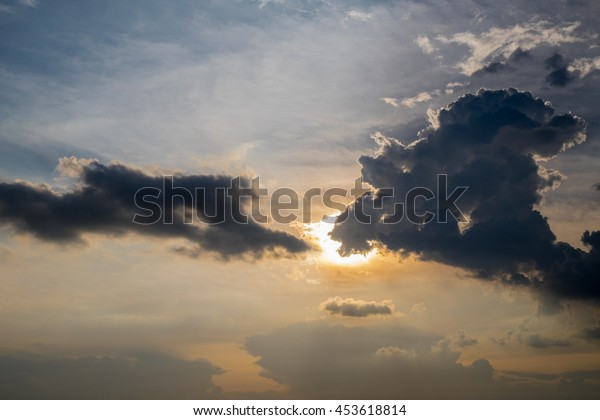 sky and clouds, Thailand