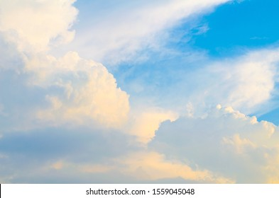 Sky with clouds,white clouds ,The vast blue sky and clouds