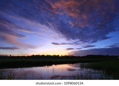 sky and clound