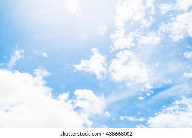 Sky and clound beautiful.