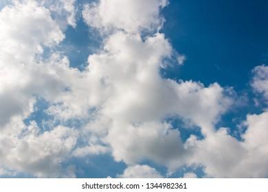 Sky and clounds.