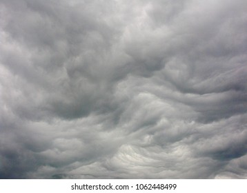Sky depicting a ferocious storm is on the way