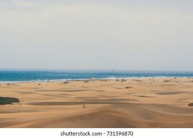 Sky, Dunes and Ocean