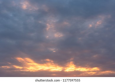 Sky during sunset
