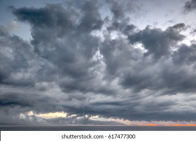 sky with dynamic dramatic expressive clouds