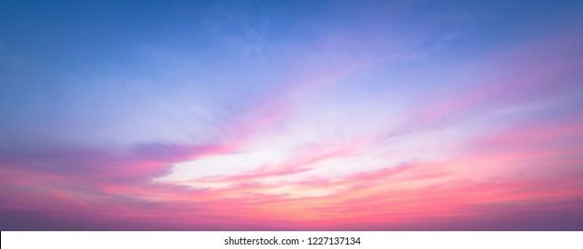 Sky evening background