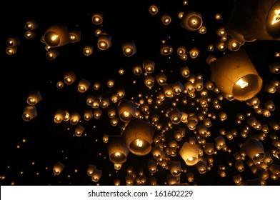 Sky Lantern Festival in Taiwan