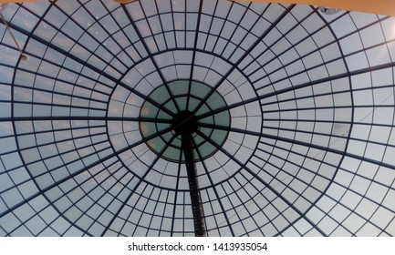 Sky light roofing or atrium steel structure using structural roofing system for an Big commercial buildings like shopping mall or Indoor stadium for Natural Lighting roof purpose