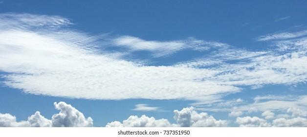 Sky in nice day