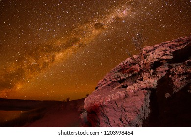 sky Night in atacama desert