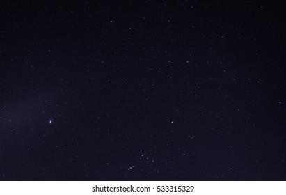 sky night star