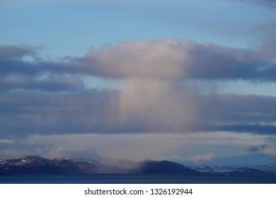 Sky in Nuuk