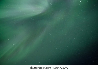 Sky ornaments from Aurora Borealis phenomenon in Alaska