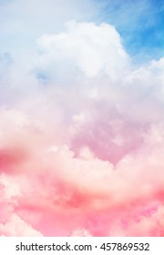 sky pink and blue colors.sky abstract background