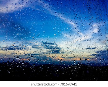 Sky in the rain