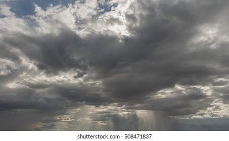 Sky raincloud