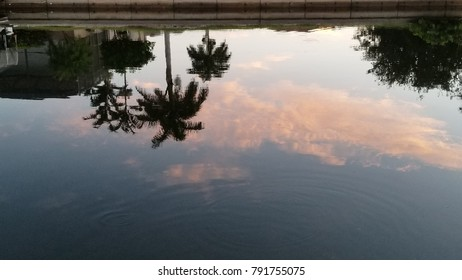Sky Reflection on Water