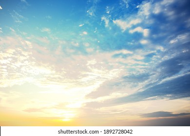 sky Shine new day Path to Heaven Natural colors Evening, sheet structure design, World Environment Day, background light of the New Year 2021, celebration dawn bright, ecology atmosphere