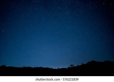 sky stars night background