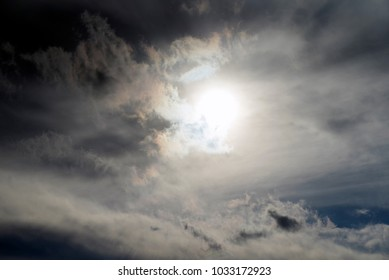 sky sun clouds background texture intensity dramatic dawn god religion