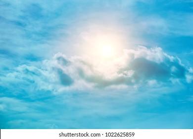 sky; sun; summer; sunny; weather; nature; blue; sunlight; light; background;