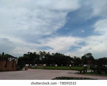 sky in thailand