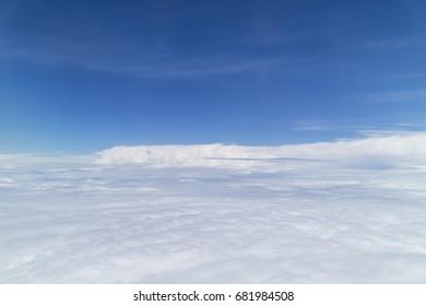Sky view, a bird's eye view