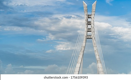 sky view of the Ikoyi link bridge
